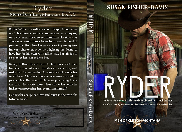 Best RYDER Print Cover by Susan Fisher-Davis